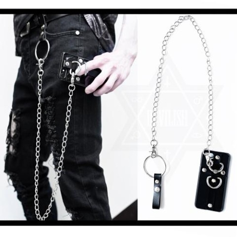 【Devilish】Chain link phone case (IPHONE8)
