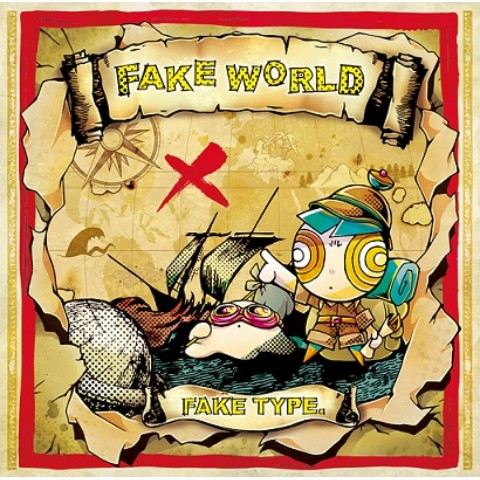 "【VV限定】FAKE TYPE  /""FAKE WORLD"""