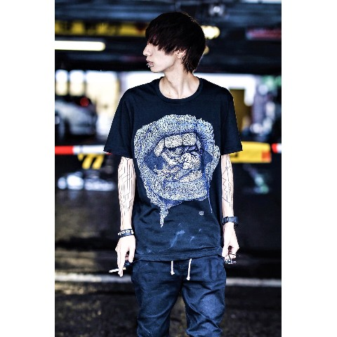 "【acOlaSia】""limited color"" yum yum yum… tee(ブラック/XLサイズ)"