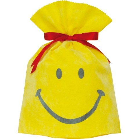 Gift Bag (L) Smile Yellow