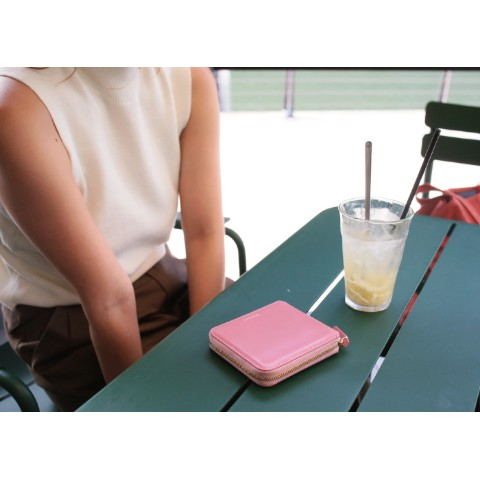 Fennec Zipper Wallet Rose pink