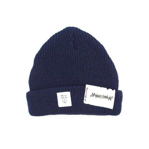 Maison book girl Knit cap mbg004 インディゴブルー
