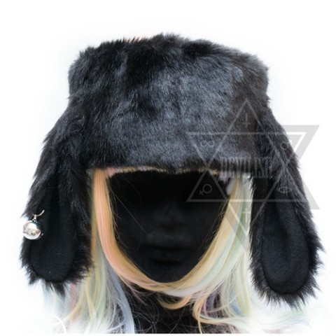 【Devilish】Ring my bell Headband(Black)