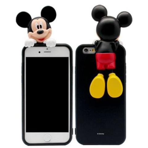 【Disney・ディズニー】 Premium Art Jelly iPhone7用 Mickey
