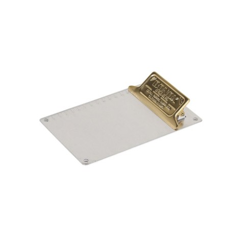 METAL CLIPBOARD A6 BRASS