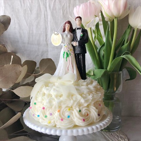 【10mei candle works】wedding cake