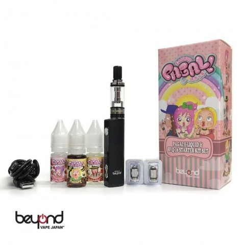 【PAGAL × Beyond Vape Japan】BVQ-16 パギャル Starter kit Black