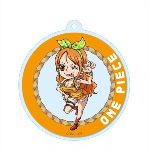 【ONE PIECE】アクリルキーチェーン(ナミ)