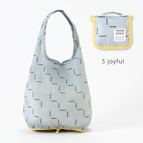 【エコバッグ】KAKUZOKO BAG S(joyful)