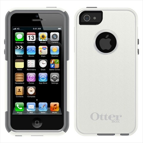【iPhone5専用】OtterBox Commuter for iPhone5 グレー【薄型多重構造衝撃吸収ケース】