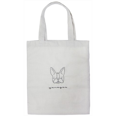 【TICKLE】COTTON TOTE BAG Perogao