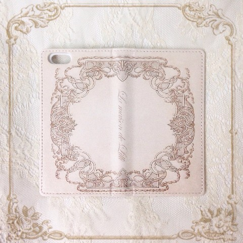 【La maison de Lilli】Antique Book iPhone case 《Beige》 iPhone6/6s