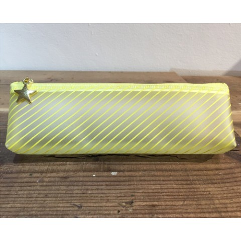 【MATOKA】 CANDY PEN CASE (Candy Yellow)