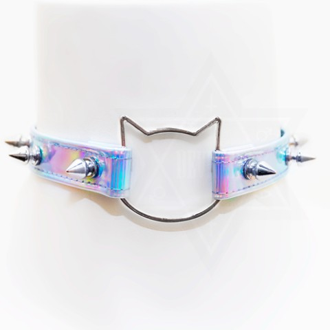 【Devilish】cat choker<キラキラ>
