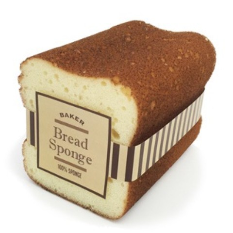 【パン雑貨】KITCHEN SPONGE BREAD TOAST