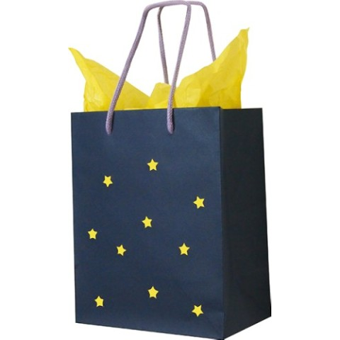 Paper Bag Star Navy