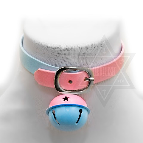 【Devilish】Cosmic kitty choker(blue)