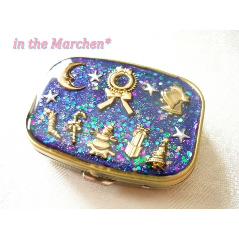 【in the Marchen*】「ホーリーナイト」ピルケース 聖月夜