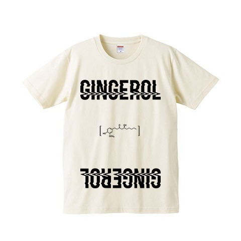 【a crowd of rebellion】 Gingerol 限定Tシャツ NATURAL 2XL