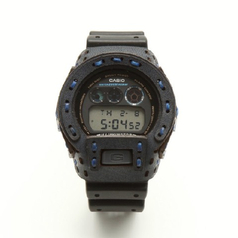 【armadillo】レザーカスタムケース for G-SHOCK【arm-001-NAVY】