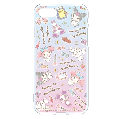 【HoneyWorks × My Melody】iPhoneケース クマパン×My Melody