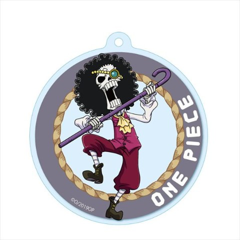 【ONE PIECE】アクリルキーチェーン(ブルック)