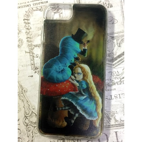 【Mai Aimheart】Alice and Caterpillar iPhone case