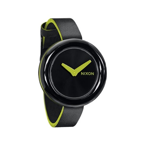 【NIXON】PIROUETTE 【ALL BLACK/LIME】