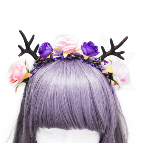 【Devilish】mystery hairband(PURPLE)