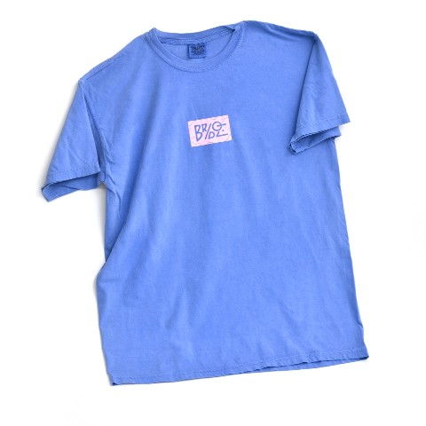 【BRIDGE SHIP HOUSE×VV】Tシャツ (Blue Jean) Lサイズ