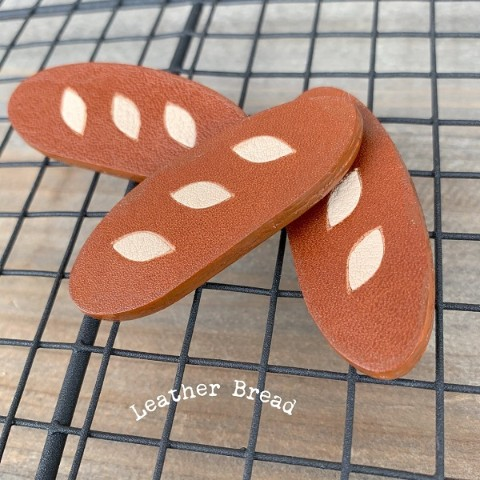 【Leather Bread】フランスパンブローチ