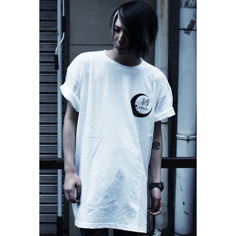 【アマツカミ】拘束/Restraint T-shirts White L