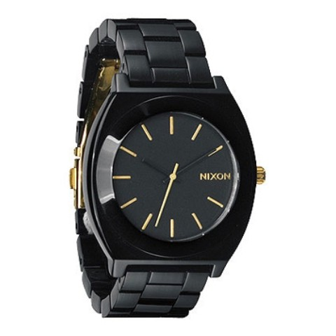 【NIXON】TIMETELLER  ACETATE  【ALLBLACK/GOLD】