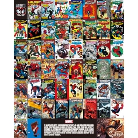 【ポスター】MARVEL COMICS Poster /Ultimate50【ミニサイズ】