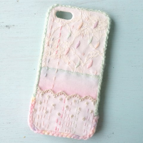 【end;】刺繍iPhone5/5sケース A