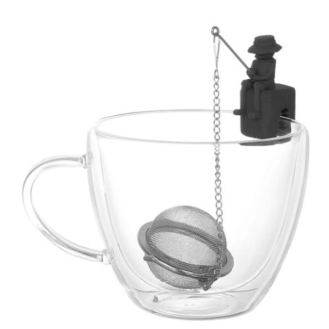 【DULTON】TEA INFUSER T.FISHERMAN GRAY