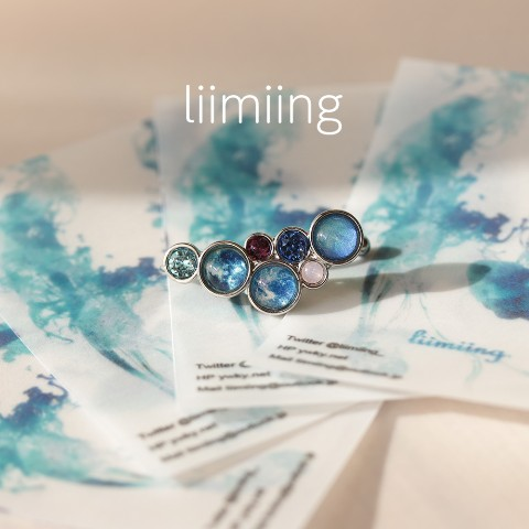 【liimiing】Winter Orb イヤーカフ