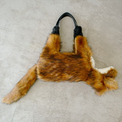 【verthandi】Ecofur FOX BAG