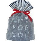 Gift Bag (L) Word Navy