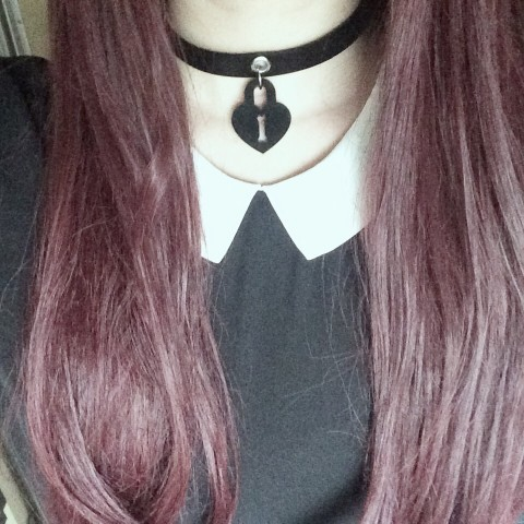 【Devilish】Lock Me Up Choker