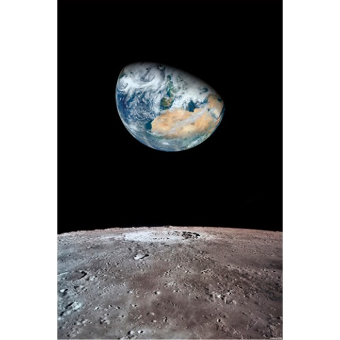 【ポスター】View of Earth From The Moon