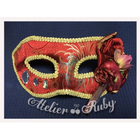 【Atelier Ruby】Mask Headdress-China/RD