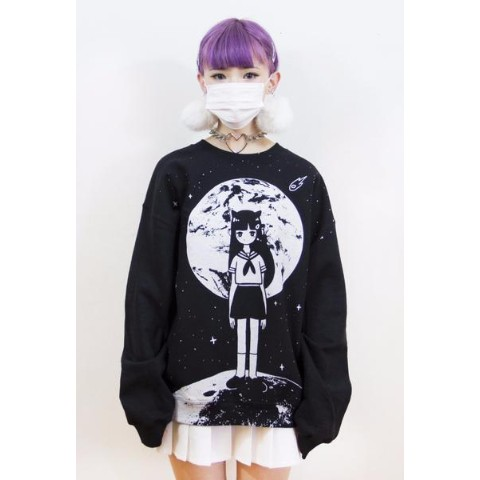 【OMOCAT】MOONGIRL Sweater (Lサイズ)