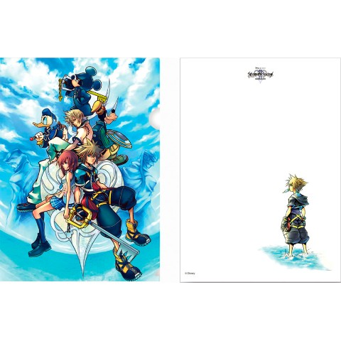 KINGDOM HEARTSⅡ クリアファイル 1