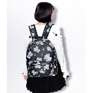 【TRAVAS TOKYO】PU Back Pack [Medium] Myriad of bears【Black】