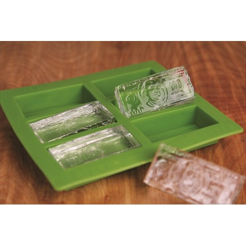 【気分は大富豪】COLD HARD CASH ICE CUBE TRAY