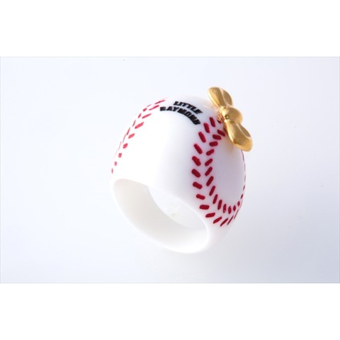 【LITTLE RAYMOND】Ribon Baseball Ring