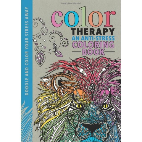 【塗り絵・洋書】Colour Therapy/LBS