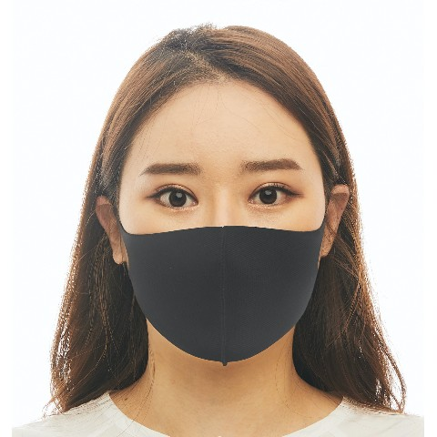 【LOOKA】Refreshing Mask (BLACK) S