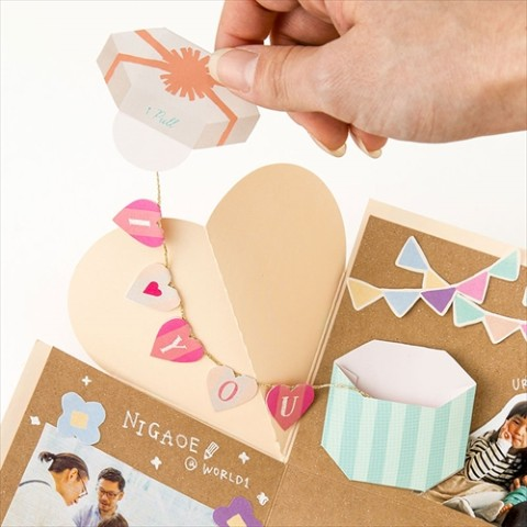 【SURPRISE FACTORY】MINI GARLAND KIT(PASTEL)